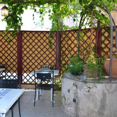 Notre terrasse ombragée